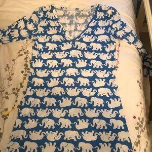 Lilly Pulitzer elephant dress